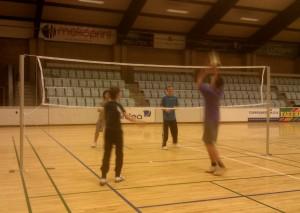 Malthe, Mathias, Daniel og Andreas i aktion